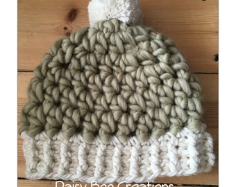Crochet Chunky Winter Hat