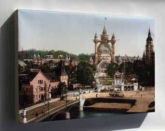 Canvas 24x36; General Art And Industrial Exposition Of Stockholm In 1897 At Stockholm, Sweden 1897