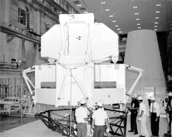 16x24 Poster; 67 H 1230 Lunar Module Lta 2 R