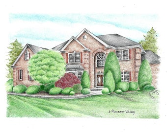 House Portrait / House Drawing