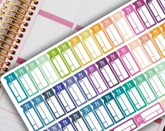 Carpe Diem Planner - PAY BILLS / DUE Planner Stickers