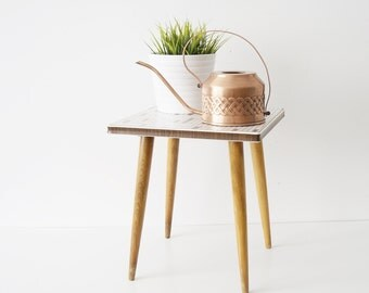 Flower stool 50s, coffee table, flower table