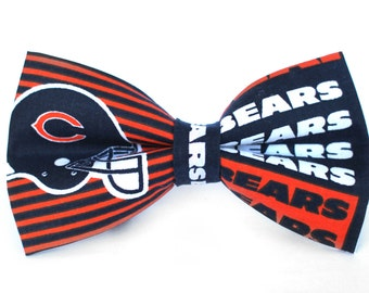 Chicago Bear Bow Tie