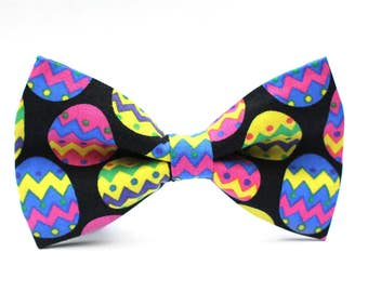 Easter Eggs Bow Tie, Holiday Bow Tie, Bowtie, Dog Bow Tie, Mens Bow Tie, Boys Bow Tie, Kids Bow Tie, Toddler Bow Tie, Bow Tie, For Him