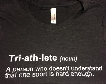 Tri-ath-lete Definition Women's T-shirt