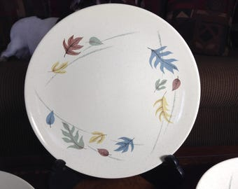 Franciscan Earthenware Dinner Plates Autumn Pattern