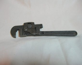 """Vintage Trimo Trimont 6"""" Adjustable Wrench, Tool, Pipe wrench"""