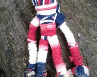 The Patriot-Handmade Voodoo Doll/ Yarn Poppet