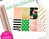 A32C The Poppy Washi Life Planner Kit Stickers!!!!  Perfect for the Erin Condren Planner!!!!