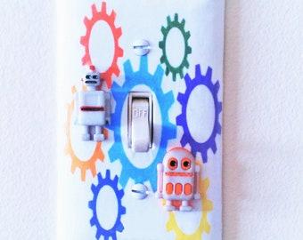 Robot Room Decor Etsy