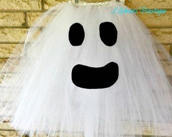 Ghost Costume, Halloween Costumes, Toddler Tutu Skirt, 1st Birthday Tutu, Smash Cake Tutu, Kids Gift, Toddler Gift, Kids Costume, Kids Gifts