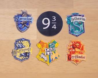Hogwarts House Stickers