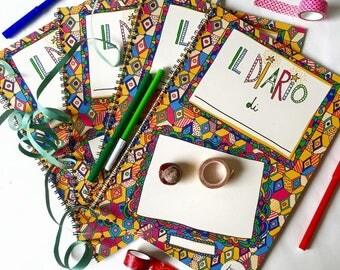 Diario di bordo   Activity book di scrittura, disegno e collage per adulti e bambini   Burabacio