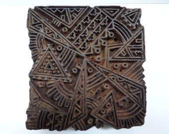 Wood Block, Wooden Block, Textile Block, Textile Print Block, Printing Block, Hand Carved Block, Indian Wood Block, Block Printing