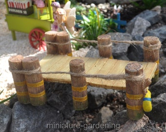 Waterfront Dock for Miniature Garden, Fairy Garden