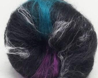 Wool Fiber Spinning Batt Haute Couture