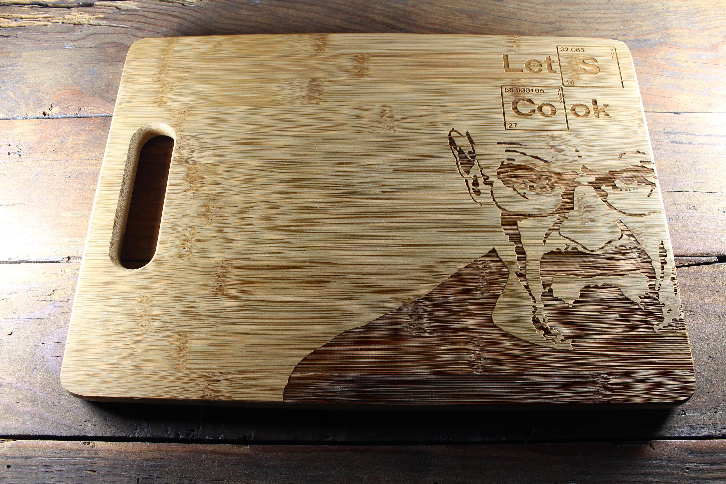Walter white green apron - Heisenberg Breaking Bad Walter White Cutting Board Gift For Chef Kitchen Accessories Housewarming Gift Engraved Gifts Gift For Him