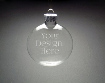 Custom Christmas Ornament - Christmas Gift - Corporate Christmas - Holiday Ornament - Anytime Gift