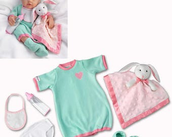 Ashton Drake 15'' baby doll cloths - Nighty, night Acessory Set / So Truly Mine Accessories