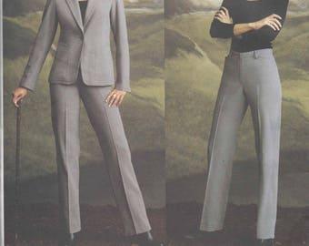 Vogue DKNY Jacket/pant pattern - 8-10-12  OOP