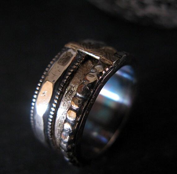 Viking Bands: Man Wedding Band Man Wedding Ring Viking Ring Rustic Man