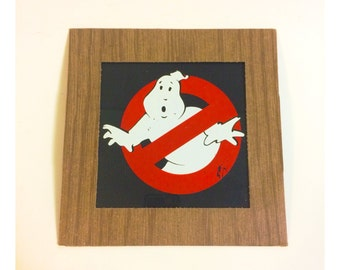 Vintage Ghost Busters Carnival Prize Wall Hanging