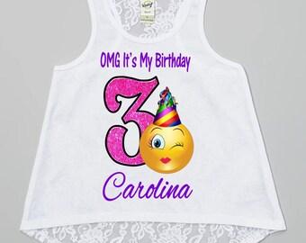 Emoji Birthday Shirt - Emoji Shirt