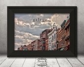 Galena, Illinois, City Decor, Modern Urban Decor, Travel Photography, Architecture, Tourism Decor, Historical, Gift Ideas, Wall Art, Words