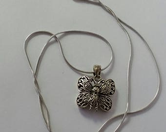 The Butterfly Necklace Sterling Silver