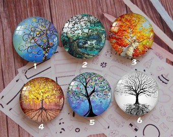 Handmade Round Photo glass Cabochons,8mm -58mm size Cute Animal Style Butterfly More-ZY873