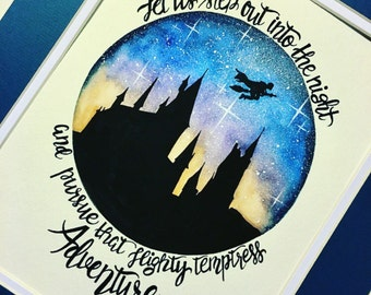 Harry Potter Nursery Decor. Harry Potter wall art.