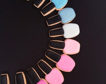 Nail Polish Sugar Cookies