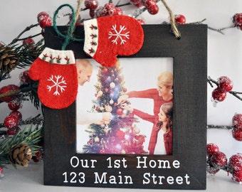 Christmas Ornament Christmas Housewarming Gift New Home Gift 2016 on back