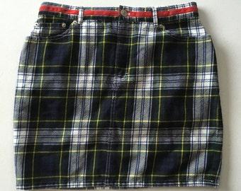 Tommy Hilfiger Plaid Skirt 90's sz 10