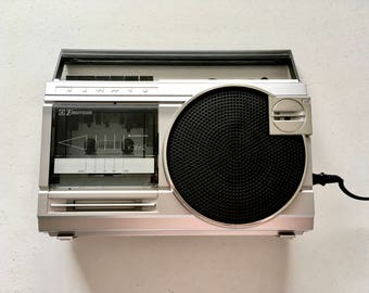Emerson K3662 Boombox AM/FM Radio Tape Player 90's