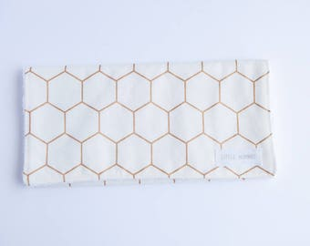 Burp Cloth - Honeycomb