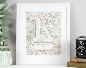 Surname Letter Print
