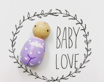 Baby Peg Doll