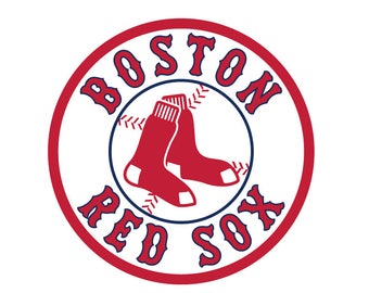 Boston Red Sox Logo Vinyl Decal Many Sizes Available Buy 2 get 1 free of equal or lesser size!