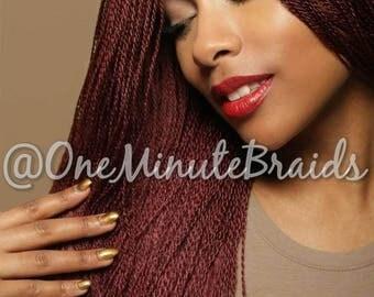 Twisted Wig Burgundy 99J