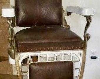 Antique Emil J. Paidar Barber Chair