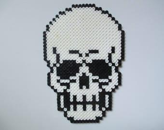 Perler Bead Skull