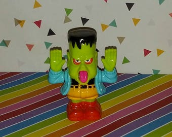 Vintage 1991 McDonald's Happy Meal Gravedale High Frankenstein figure Toy