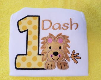 FLASH20 for 20% off!! Lion birthday shirt, zoo birthday shirt, lion shirt, safari birthday shirt