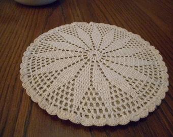 Handmade Crochet Trivet / Hotpad
