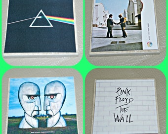 Pink Floyd Gifts - Pink Floyd  Coasters - Music Coasters - Pink Floyd Albums -  Pink Floyd Music - Pink Floyd - Classic Rock - Music Gifts