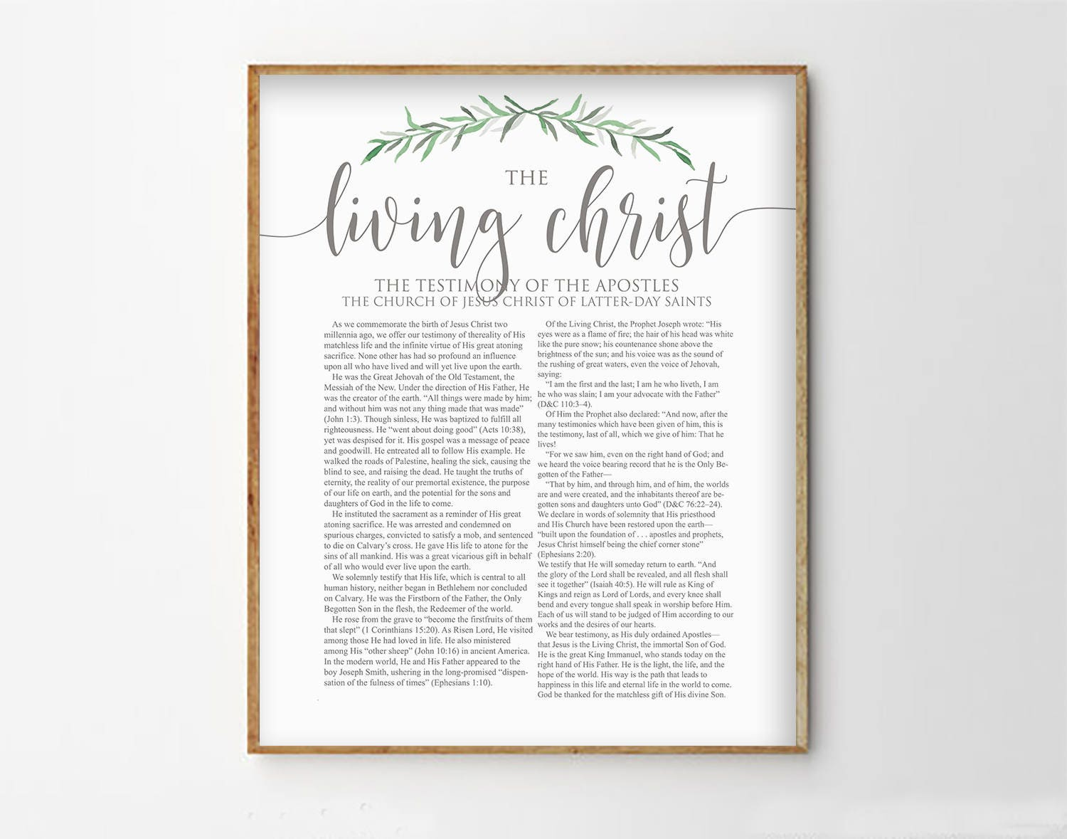 It is a photo of Resource The Living Christ Free Printable