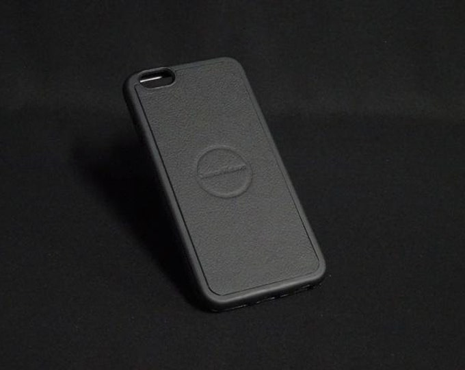 Jimmy Case - Fits Apple iPhone 6 6S - Black - Kangaroo leather - Handmade - James Watson