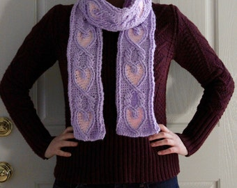 Celtic Princess Braided Cable Scarf Crochet Pattern