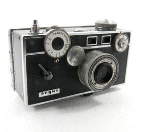 Argus Cintar Rangefinder Camera  50mm C3 Brick Camera  Vintage Photography  Art 35mm Film Midcentury MCM Student Supplies Collectable  1950